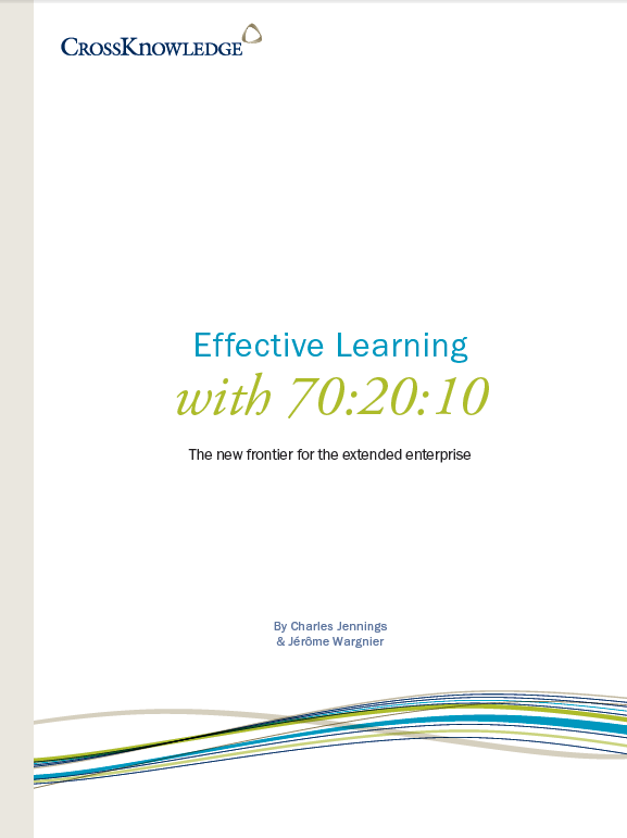 Effective Learning with 70:20:10